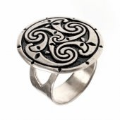 "Fingerring ""Triskelion"""